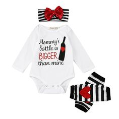 d8b73d35071fc6 3Pcs Baby Outfits Set Newborn Infant Toddler Baby Girls Romper Letter Tops+  Leg Warmer drop ship