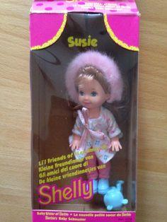 Barbie Puppe Baby Schwester Shelly Susie von Matell von 1994 in Spielzeug, Puppen & Zubehör, Mode-, Spielpuppen & Zubehör, Barbiepuppen & Zubehör /Mattel, Puppen | eBay