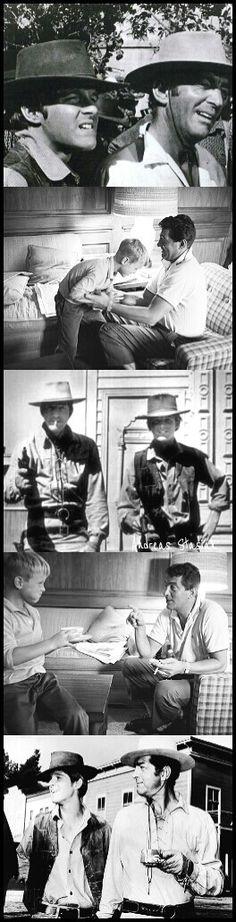 Dean Martin and his son Dean-Paul Martin