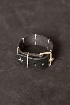 M.A+ – Vertical Staple Medium Wristband  PNP-firenze #maurizioamadei #pnpfirenze