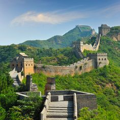 Photo about Great Wall of China in Summer with beautiful sky. Travel Tours, Travel Deals, Budget Travel, The Wall Show, Great Wall Of China, China Wall, China China, Tourist Information, China Travel
