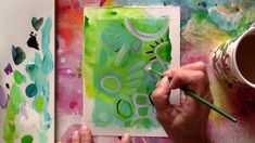 Superhero Art Projects, Papaya Art, Acrylic Painting Canvas, Acrylic Art, Art N Craft, Learn Art, Small Art, Art Lessons, Mixed Media