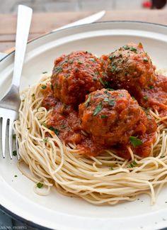 Delicious Shots: Spaghetti with Meatballs