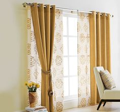 Curtains for Sliding Glass Doors Ideas on Your Living Room How to make scarf valances  Can t wait try this Decor