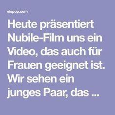 Heute präsentiert Nubile-Film uns ein Video, das auch für Frauen geeignet ist. Wir sehen ein junges Paar, das Geschlechtsverkehr im Bett hat!