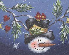 snowman and cardinals Handmade Christmas Crafts, Diy Christmas Garland, Christmas Canvas, Christmas Paintings, Christmas Signs, Christmas Pictures, Christmas Snowman, Holiday Crafts, Snowmen Paintings