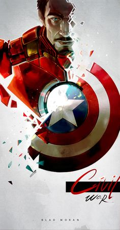 I'm hoping that all these Marvel movies are leading to Civil War. That would be epic.