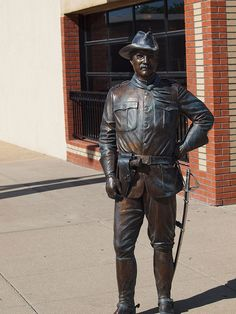 Theodore Roosevelt Statue, Presidents Tour, Rapid City, South Dakota - 26th President of the United States of America