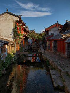 Lijiang Old Town, Yunnan Province, China