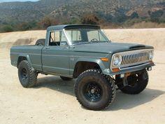pics of with inch lift - International Full Size Jeep Association Jeep Wagoneer, Jeep Xj, Jeep Pickup, Jeep Truck, Pickup Trucks, Vintage Jeep, Vintage Trucks, Jeep Garage, Jeep Brand