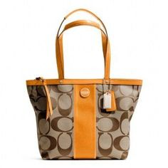 Coach bag. I just purchased this one in silver/cream. Love.$40.79