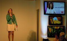 #Sara. #Hildebrand. #Moderation. #Modetag im #Emmen #Center #2013.