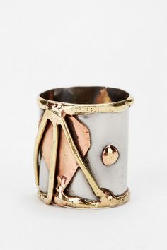 Gilded Federation Ring  #UrbanOutfitters