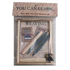 You Can Learn Weaving Kit