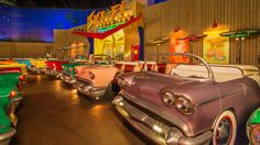 Beginning Nov. 1, 2015 through Jan. 23, 2016, you can do breakfast and a movie retro-style at the Sci-Fi Dine-In Theater Restaurant at Disney's Hollywood Studios! Reservations are now available for this limited time experience.