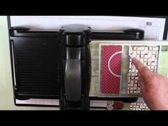 ▶ Stampin Up Circle Card Thinlits Die - YouTube - by Sandi MacIver at Stamping with Sandi
