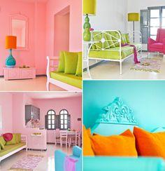 bright kids bedroom