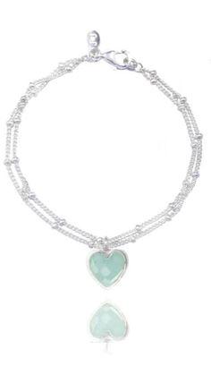 Joma Jewellery - Kiki Bracelet - Aqua Heart - Sands Gifts http://www.sandsgifts.co.uk/joma-jewellery-kiki-bracelet-aqua-heart.ir