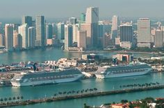 Miami Cruise Port Information: Find address information, directions, parking, and other embarkation and disembarkation information for the Miami cruise port.