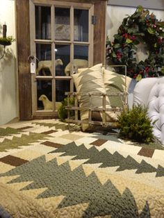 Check out the deal on EVERGREEN TABLETOPPER & PILLOW PATTERN at Country Sampler - Spring Green, WI