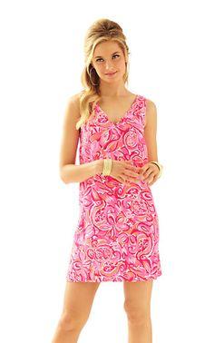 Calissa Sleeveless Double V-Neck Dress