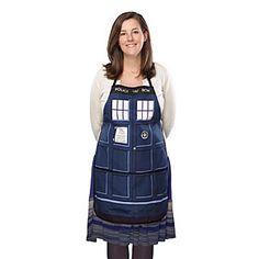 Doctor Who TARDIS Apron