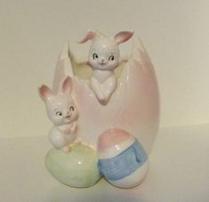 Ceramic Easter Eggs Flower Pot|Easter Candy Jar #homedecor #eastereggs #easterbunny #flowerpot #easter
