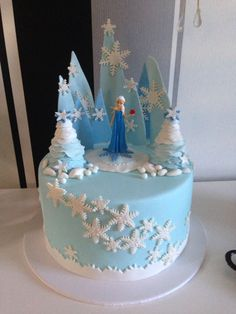 Frozen Cake. Yum. Birthday party cake  by my petite sweets in Perth, WA.