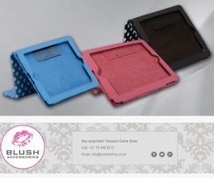 This cheeky I-pad cover from is just what you need over the weekend to beautify your and protect it at the same time. Available in sky blue, black and pink. Weekend Is Over, Polka Dots, Ipad, Africa, Blush, Sky, Technology, Wallet, Cover