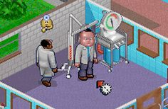 Theme Hospital: The Inflator Room