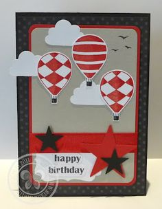 Stampin with Paula: Up Up and Away