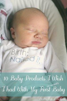 products i wish i had with my baby