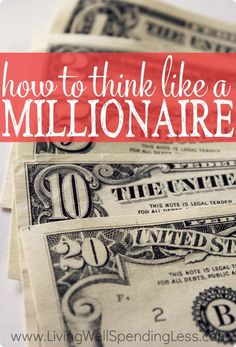 Ever wondered what sets millionaires apart from the rest of us? Surprisingly, it's not fancy cars, private jets, or big houses, but often simply the way they THINK about money. If you've ever wished you could make it big, don't miss these five smart tips for how to start thinking like a millionaire!
