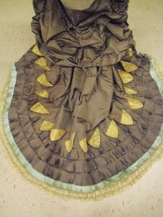 SilkDamask : Lilly Belle's Going Away Dress, mid-1870s