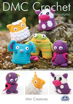 Mini Creatures Toys in DMC Petra Crochet Cotton Perle No. 3 - Discover more Patterns by DMC at LoveCrafts. From knitting & crochet yarn and patterns to embroidery & cross stitch supplies! Shop all the craft materials you need to start your next project. Halloween Film, Halloween Games Online, First Halloween, Halloween Celebration, Halloween Party Decor, Halloween Crafts, Tsumtsum, Dmc, Crochet Projects