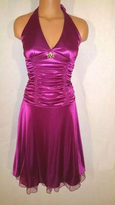 Sexy Long Formal Bridesmaid Prom Dress Wedding Party Evening Cocktail Dress 6-8 #RubyRox #BallGown #Cocktail