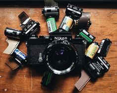 Happiness is a Nikon F and a whole lot of film. @dollensw just took ownership of…