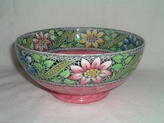 Maling Lustre Thumbprint Bowl - Pottery & Porcelain - Shop
