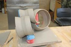 Ceramic Arts Daily – Support Systems: What it Takes to Make Lightweight Wheel Thrown, Altered, and Assembled Ceramic Sculptures