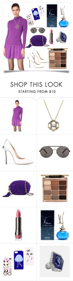 """""""Long Sleeve Dress..**"""" by yagna ❤ liked on Polyvore featuring Boutique Moschino, Noor Fares, Casadei, Seafolly, Chanel, Stila, LORAC, Van Cleef & Arpels, Kate Spade and Avenue"""