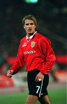 Sport Football Tokyo Japan November 1999 Toyota Intercontinental Cup Manchester United 1 v Palmeiras 0 David Beckham/Manchester United World Football, Sport Football, Soccer, David Beckham Manchester United, Manchester United Football, Premier League Champions, Wayne Rooney, Best Club, Don Juan
