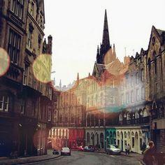 Edinburgh, Scotland...One of my favorite cities.
