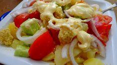 Σαλάτες διάφορες !!! ~ ΜΑΓΕΙΡΙΚΗ ΚΑΙ ΣΥΝΤΑΓΕΣ Hors D'oeuvres, Salads, Meat, Chicken, Recipes, Food, Essen, Meals, Salad