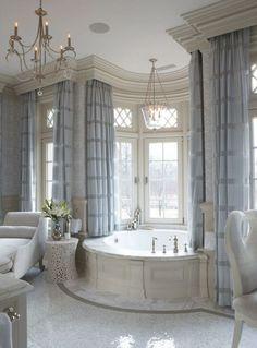 Gorgeous modern bathroom in a period home. #interiordesign #bathrooms
