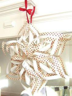 24 Homemade Snowflake Artisanat