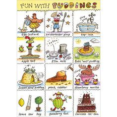 £1.75 Fun with Puddings. Presentationsuk, Phoenix Cards, Stationery, Wrap & Ribbon. Sales enables Jackie to raise Funds and Awareness for B12d and Thyroid Charities. Click link for details https://www.phoenix-trading.co.uk/web/jackievernon/area/about-me/?bid=93aae96cbcc8562bf09123604080d032704456a3 Phoenix Cards & Stationery Phoenix Independent Trader