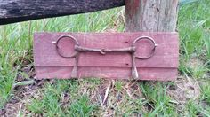 Horse bit on barnwood towel rack or wall hanging,  vintage and rustic,  horse decor