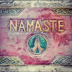 namaste.  #yoga