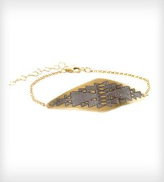 Vermeil Triangle Bracelet