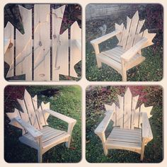 Team Canada Muskoka Adirondack Chair